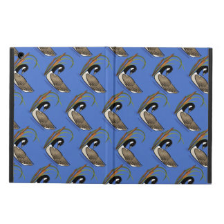 Canadian goose with cattails pattern iPad air cover