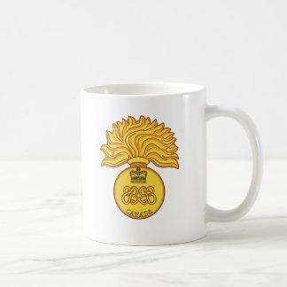 Canadian Grenadier Guards Cap Badge Coffee Mug