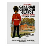 Canadian Grenadier Guards Print