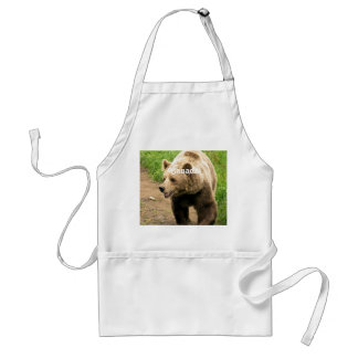 Canadian Grizzly Adult Apron