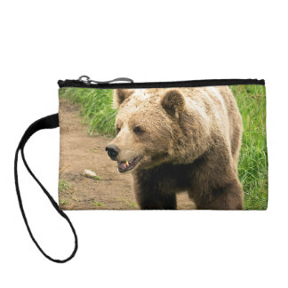 Canadian Grizzly Change Purse