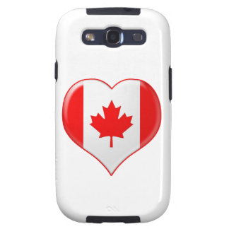 Canadian Heart Charm Samsung Galaxy SIII Covers