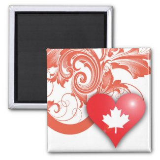 canadian heart magnet