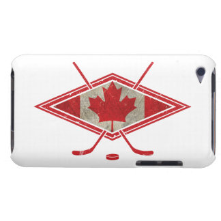 Canadian Hockey Flag Logo Barely There iPod Cover