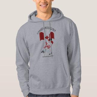 Canadian Hockey Gold Medal Team Hoodie