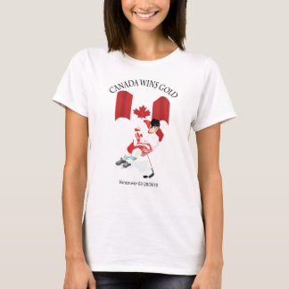Canadian Hockey Gold Medal Team T-Shirt