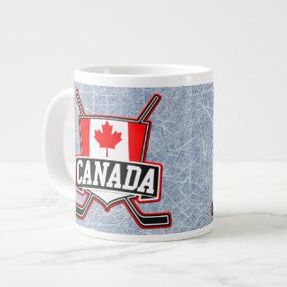 Canadian Hockey Logo Big Mug