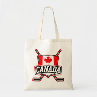 Canadian Hockey Logo Tote Bag
