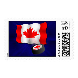 Canadian Hockey Postage