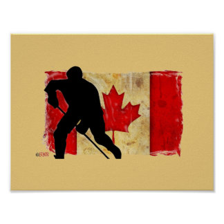 Canadian Hockey Pride Poster
