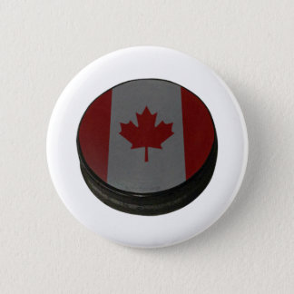Canadian Hockey Puck Button