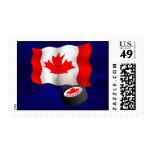 Canadian Hockey Stamp