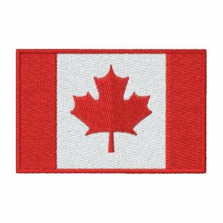 Canadian Hockey  with Maple Leaf flag Jacket