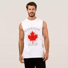 CANADIAN HOTTIE! SLEEVELESS SHIRT