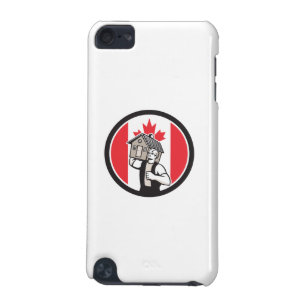 Canadian House Removal Canada Flag Icon iPod Touch 5G Cover