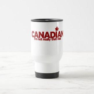 Canadian Humour Travel Mug