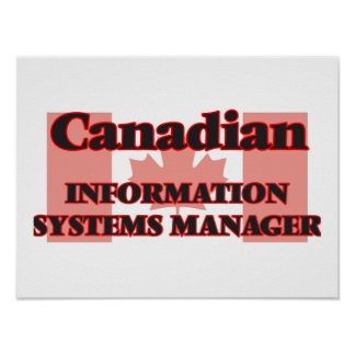 Canadian Information Systems Manager Poster