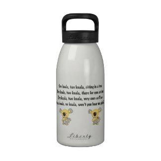 Canadian Koala Support Water Bottle