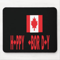 Canadian Labor Day Mouse Pad