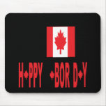 Canadian Labor Day Mousepads
