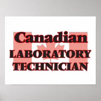 Canadian Laboratory Technician Poster