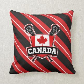 Canadian Lacrosse Throw Cushion
