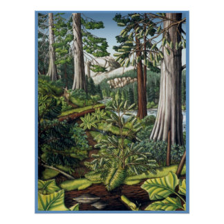 Canadian Landscape Painting Poster by Kim Hunter