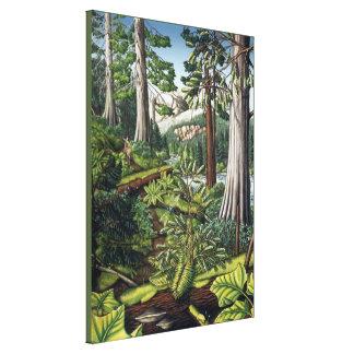 Canadian Landscape Painting Print Canvas