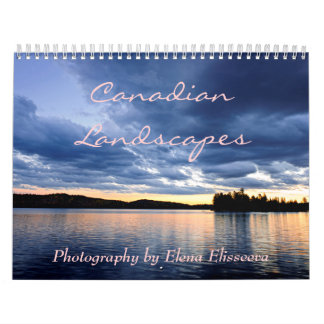 Canadian Landscapes Calendar