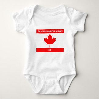 Canadian Leaf Design T Shirts