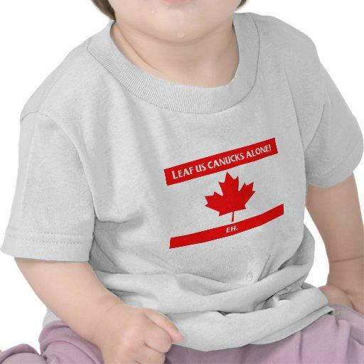 Canadian Leaf Design Tees
