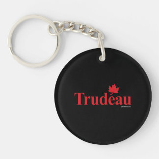 Canadian Liberal Trudeau -.png Keychain