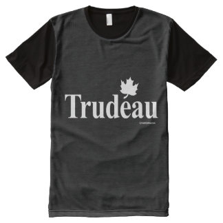 Canadian Liberal Trudeau - white .png All-Over-Print T-Shirt