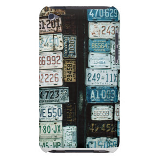 Canadian License Tag Collage iPod Case-Mate Case