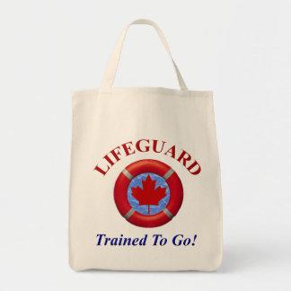 Canadian Lifeguard Tote Bag