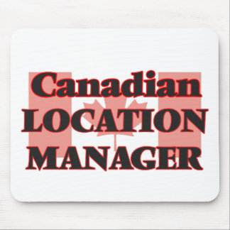 Canadian Location Manager Mouse Pad
