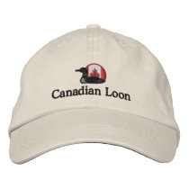 Canadian Loon Funny Custom Personalized Embroidered Baseball Hat