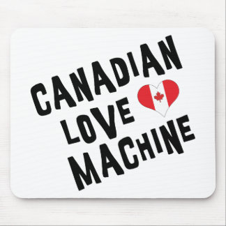 Canadian Love Machine Mouse Pad