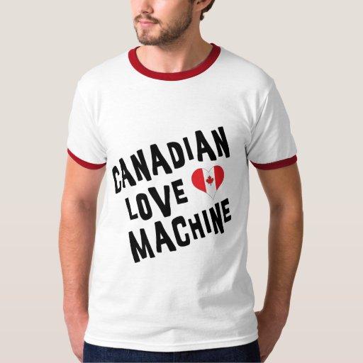 Canadian Love Machine T Shirt Men's