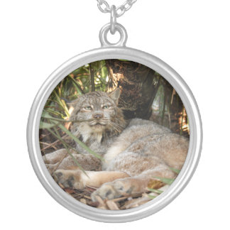 Canadian Lynx 0339e Silver Plated Necklace