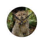 Canadian Lynx 4193e Round Clock