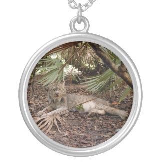 Canadian Lynx 7904 Round Pendant Necklace