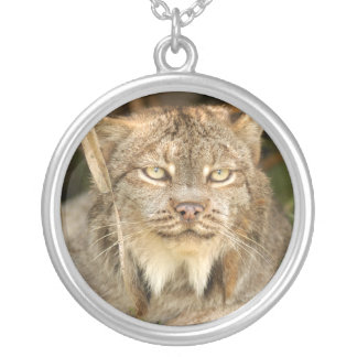 Canadian Lynx 8610e Silver Plated Necklace