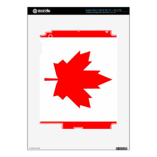 Canadian Maple iPad 3 Skin