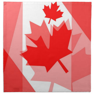 Canadian Maple Leaf all over Style CANADA Napkin