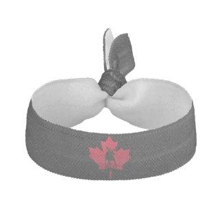 Canadian Maple Leaf and Moose Elastic Hair Tie