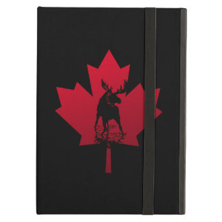 Canadian Maple Leaf and Moose iPad Air Case