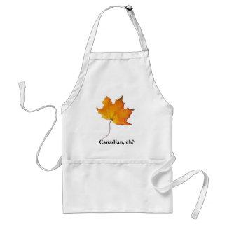 Canadian Maple Leaf Aprons