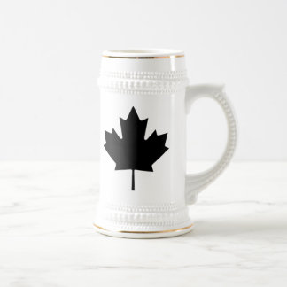 Canadian Maple Leaf Beer Stein