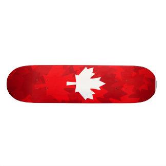 Canadian Maple Leaf Camo Skateboard Deck